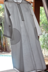 Cape Town: GKD White Cotton Tunic
