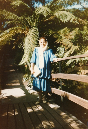 Yasmin Mullajee at the age of 50
