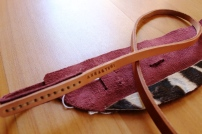 Cape Town: Anna&Yumi Raw Hide Belt
