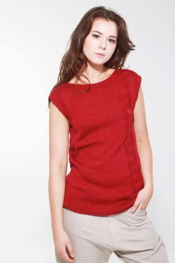 Cape Town Khioma Cotton Handknit Pullover