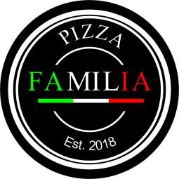 PIZZA FAMILIA LOGO- ROUND